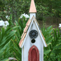 Jubilee Church Bird House